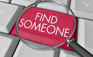 How to find someone online